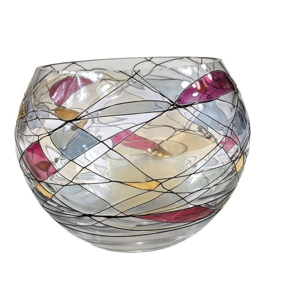 PartyLite Mosaic Tealight Candle Holder